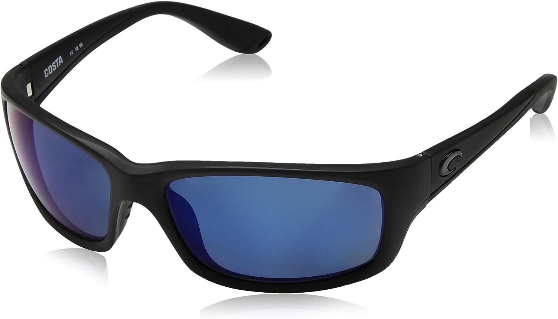 Blackout Costa Del Mar Jose Sunglasses Blue Mirror 580 Plastic Lens