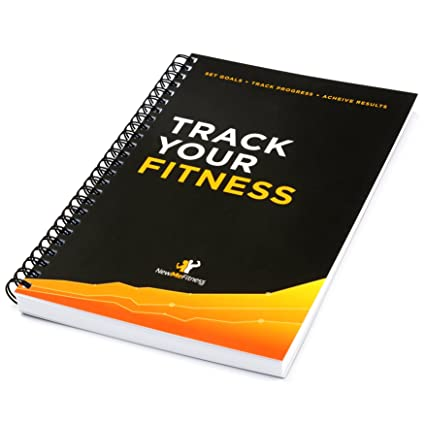 amazon com workout log book fitness journal 25 week designed