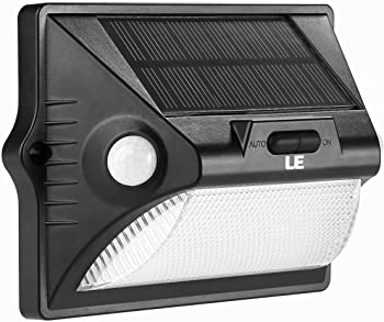 Lighting EVER LE Solar PIR Motion Sensor Wall Light
