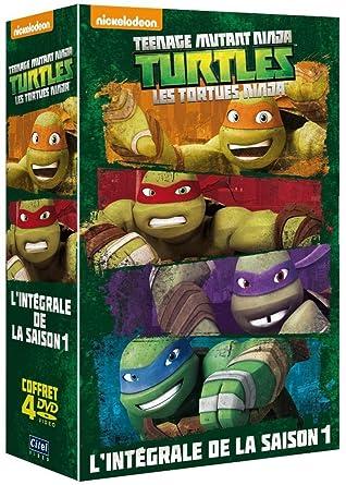 Les Tortues Ninja - Lintégrale de la saison 1 Francia DVD ...