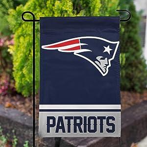 Stockdale Champ New England Patriots Garden Flag 12.5