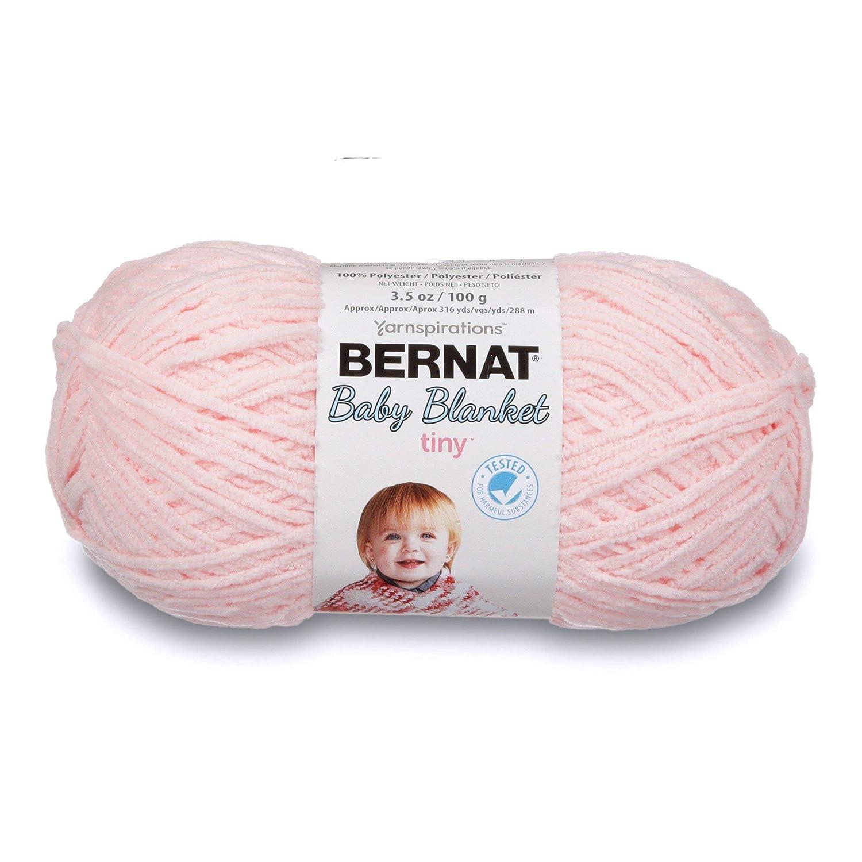 BernatベビーBlanket Tiny糸 ピンク 16611414004 B06XJKBTR9 Hush Pink