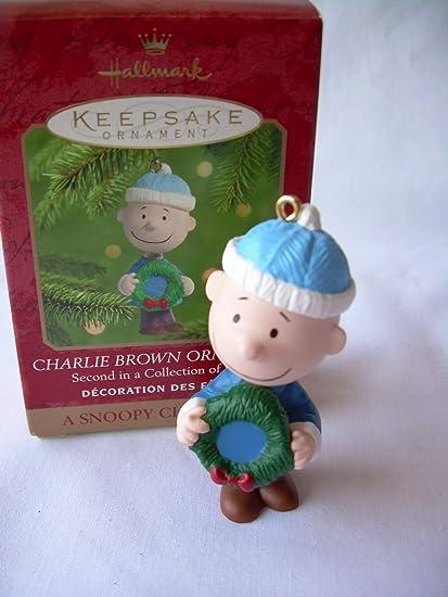 qrp4191 charlie brown a snoopy christmas 2000 hallmark ornament