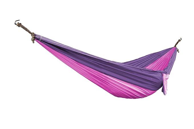 Bliss Hammocks BH-406PP Travel Pocket Hammock, Pink and Purple