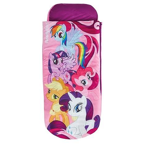 My Little Pony Cama Hinchable y Saco de Dormir 2 en 3, Tela, Rosa ...