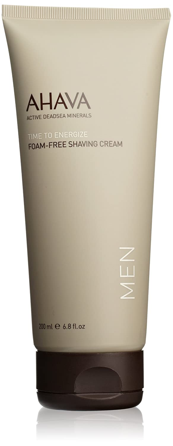 AHAVA Men Foam-Free Shaving Cream 200 ml Dead Sea Laboratories Ltd RB78 AHV00028