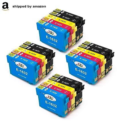 EBY 16XL - Cartuchos de Tinta para Epson 16 (Compatible con Epson ...