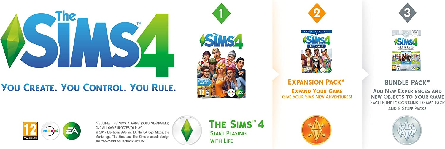 The Sims 4 Bundle Pack 7 [Importación Inglesa]: Amazon.es: Videojuegos