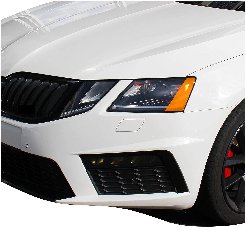 US Style Scheinwerfer Folie Set T/önungsfolie f/ür Auto Blinker Nebelscheinwerfer Front Facelift B026