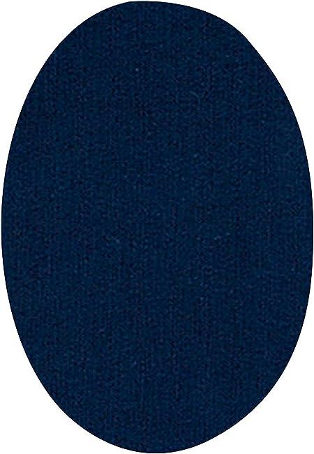 Parches termoadhesivos para reparar ropa deportiva Color: azul marino Rodilleras para ch/ándal 6 Coderas o rodilleras de 13,9 x 9,3 cms