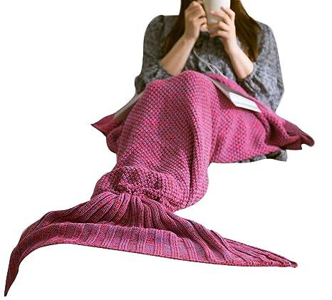 Manta de sirena, patrón de punto, Saco de dormir, Disfraz 33660