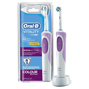 Confirm. Oral b crossaction power battery toothbrush will know