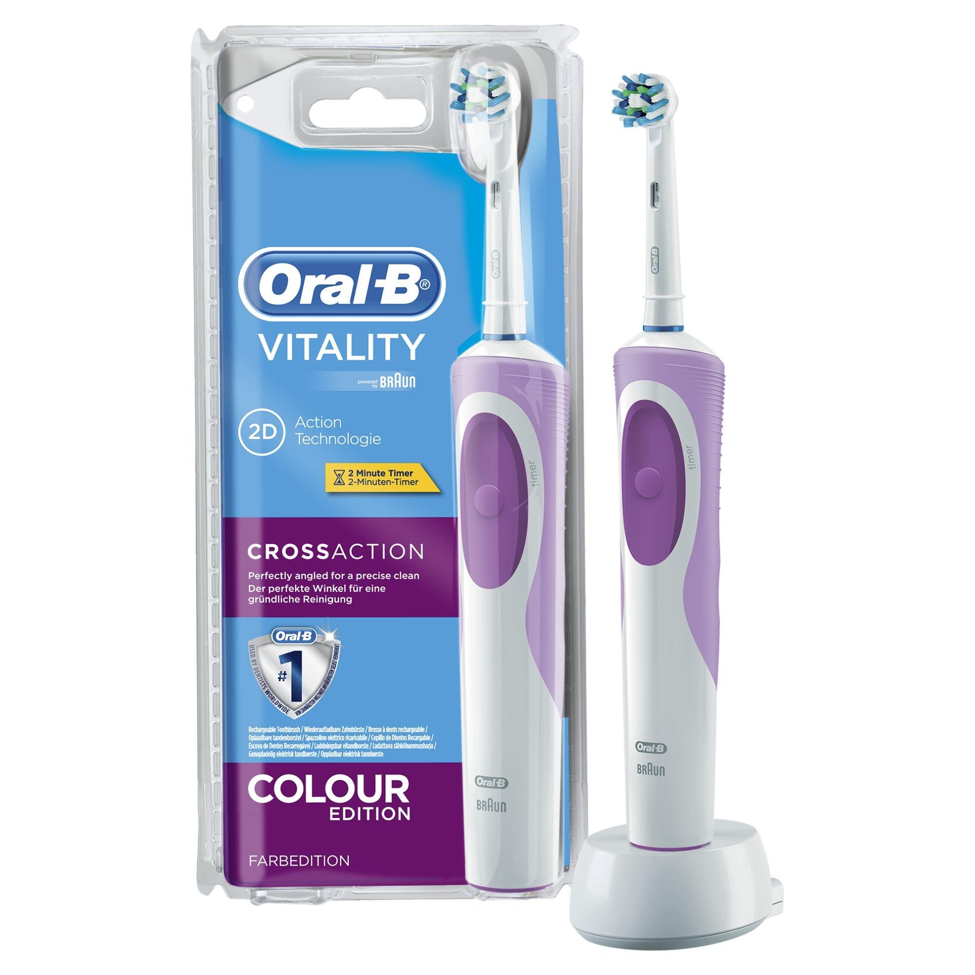 Oral-B Vitality CrossAction 2D - Cepillo de dientes eléctrico, recargable product image