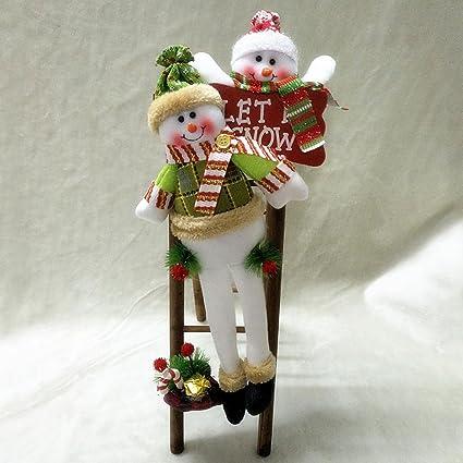 katoot large santa claus snowman climbing ladder ornaments holiday gift kids toy tree pendant christmas - Christmas Decorations Large Santa Claus