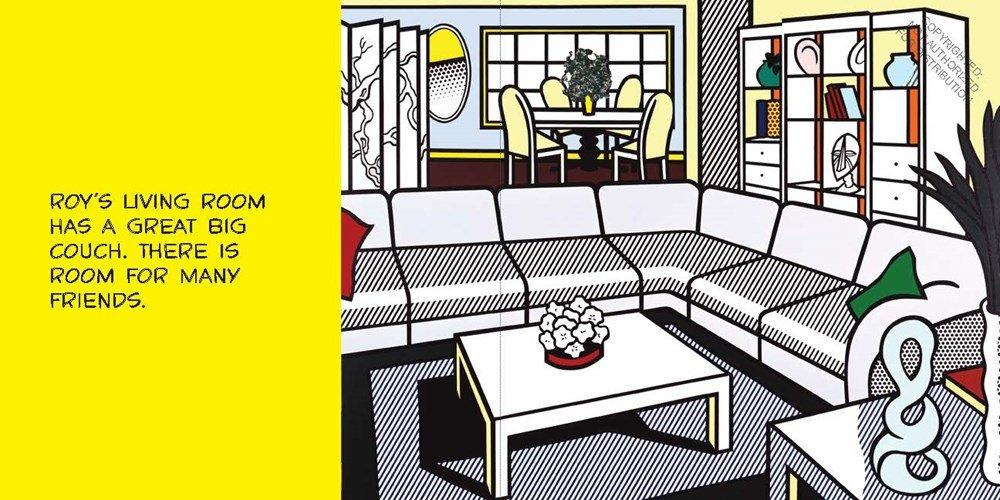 Roy\'s House: Susan Rubin, Roy Lichtenstein: 9781452111858: Amazon ...
