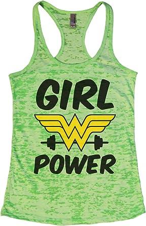"""Womens Gym Workout Yoga Tank Top /""""Soul Searcher/"""" Funny Threadz"""
