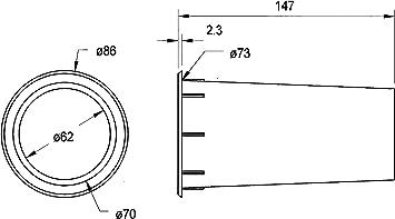Visaton Vs Br15 34 Kit Vorne Elektronik