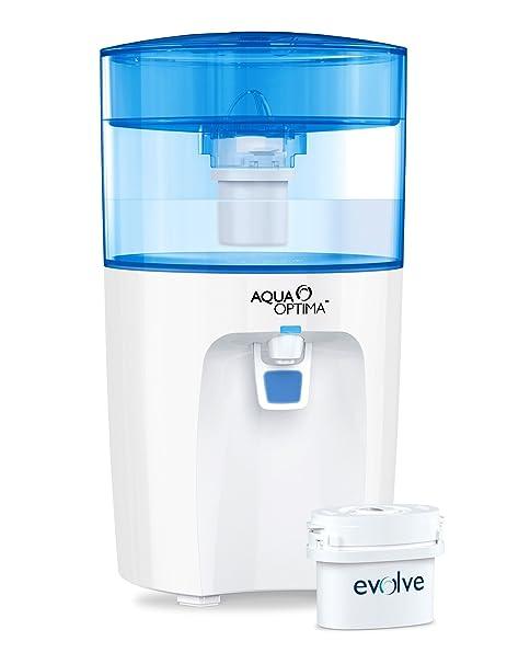 Aqua Optima Corona - Enfriador de agua con filtro para 30 días