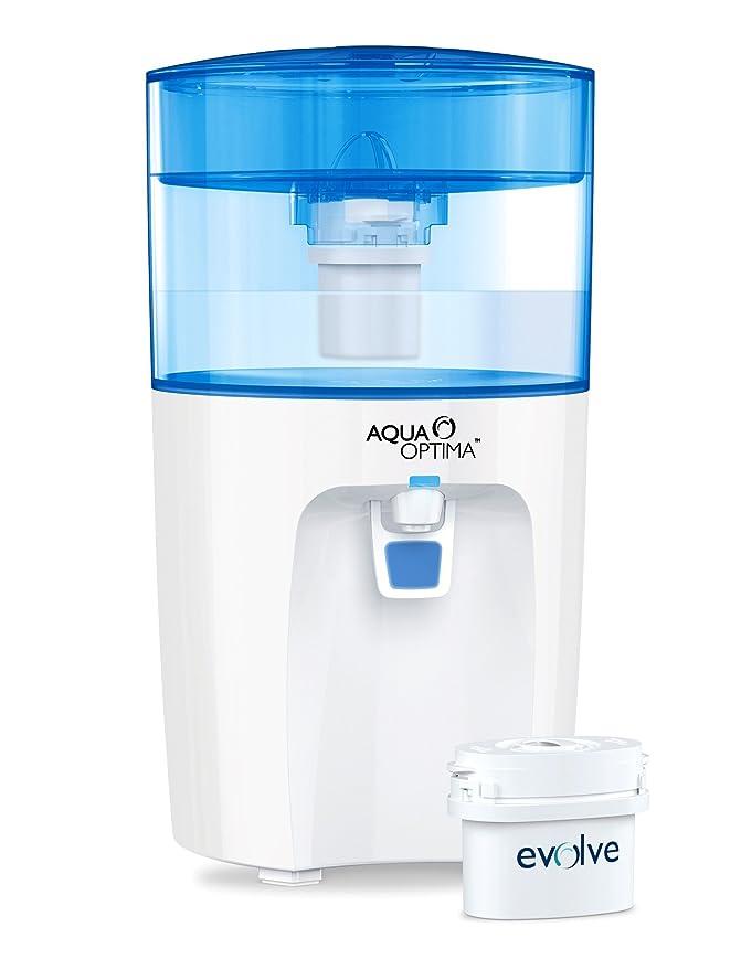 Aqua Optima Corona - Enfriador de agua con filtro para 30 días: Amazon.es: Hogar