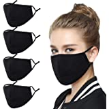 Genovega Reusable Face Mask with Adjustable Ear Loops, Soft Fabric Fashion Design