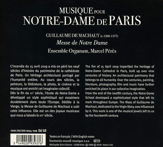 Musique Pour Notre-Dame De Paris