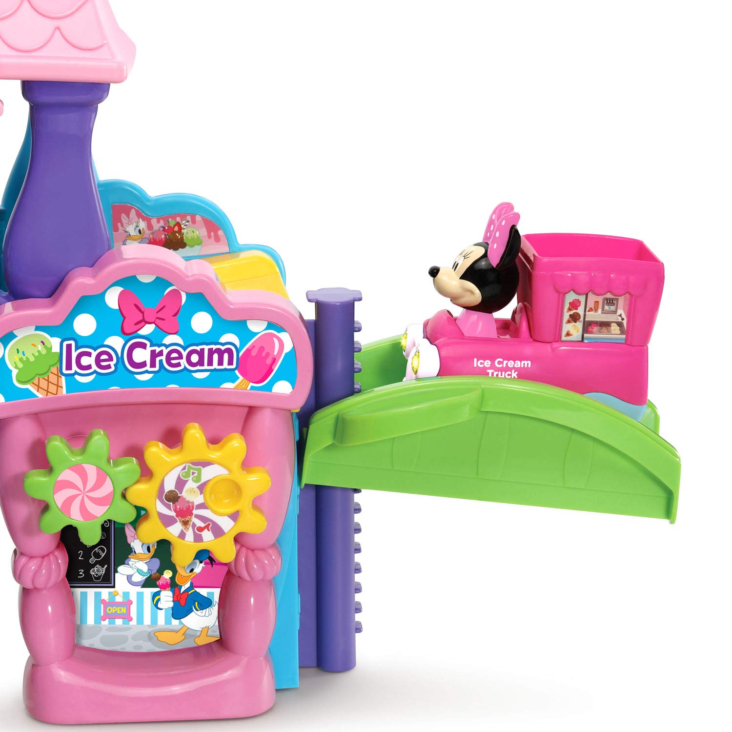 VTech Go! Go! Smart Wheels Minnie Mouse Ice Cream Parlor by VTech (Image #3)