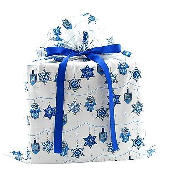Amazon.com: Bolsa de regalo reutilizable Hanukkah con ...