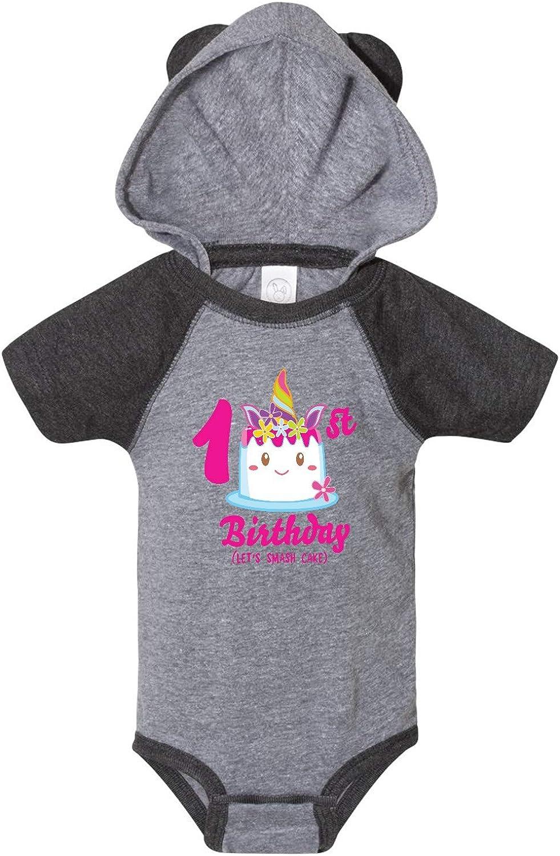 inktastic 1st Birthday Lets Smash Cake Infant Creeper