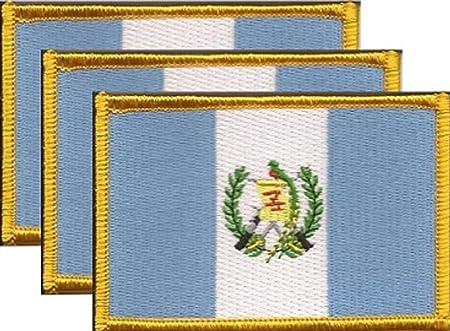 Republic of Seychelles Flag Iron-On Patch Military Emblem Gold Border