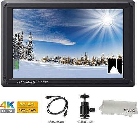 FEELWORLD FW279S 7 pulgadas 4K HDMI 3G-SDI 2200nit Daylight ...