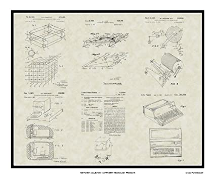 Amazon.com: Computer Patent Collection Art | Software Programmer ...