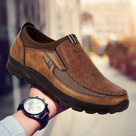 Grande Taille Chaussures En Cuir wpFrzY76