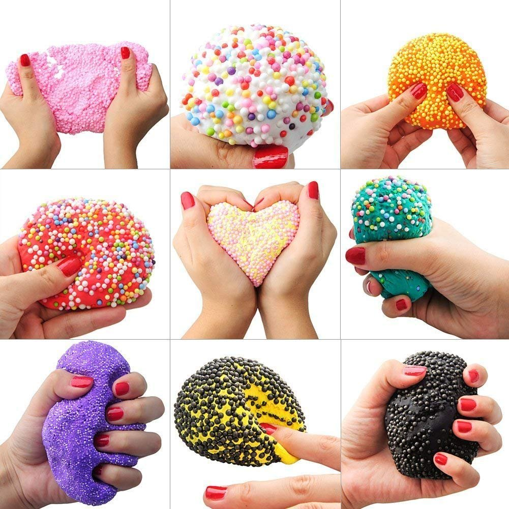 ... hacer bolas de espuma de 17 piezas, bolas de espuma de poliestireno, suministros de manualidades, cuentas de flotador para hacer adelgazamiento casero ...