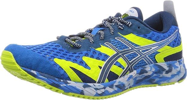ASICS Gel-Noosa Tri 12 Road Running Shoe Herren Sneakers blau/gelb bunt