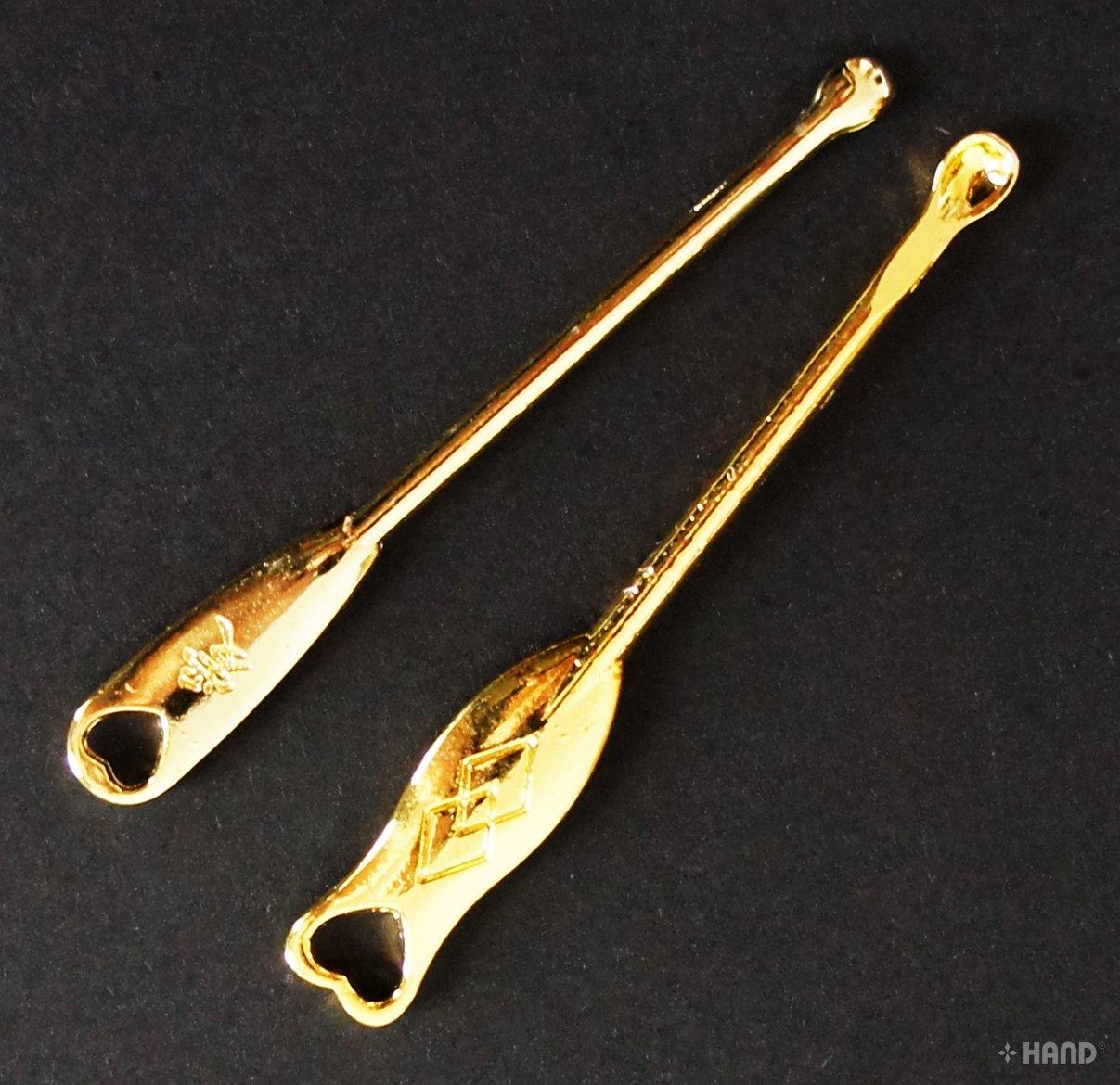 09 Earpick Metal Ear Wax Remover Cleaner - Buy 1 Get 1 FREE! (Gold) XMD