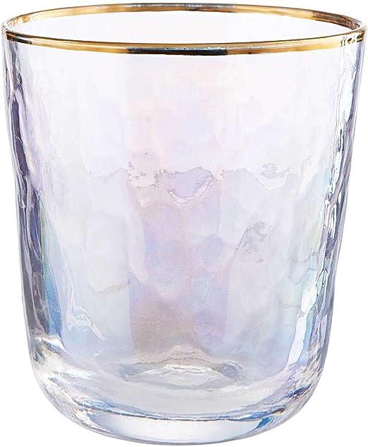 Butlers GOLDEN TWENTIES 4x Weinglas mit Goldrand 280 ml
