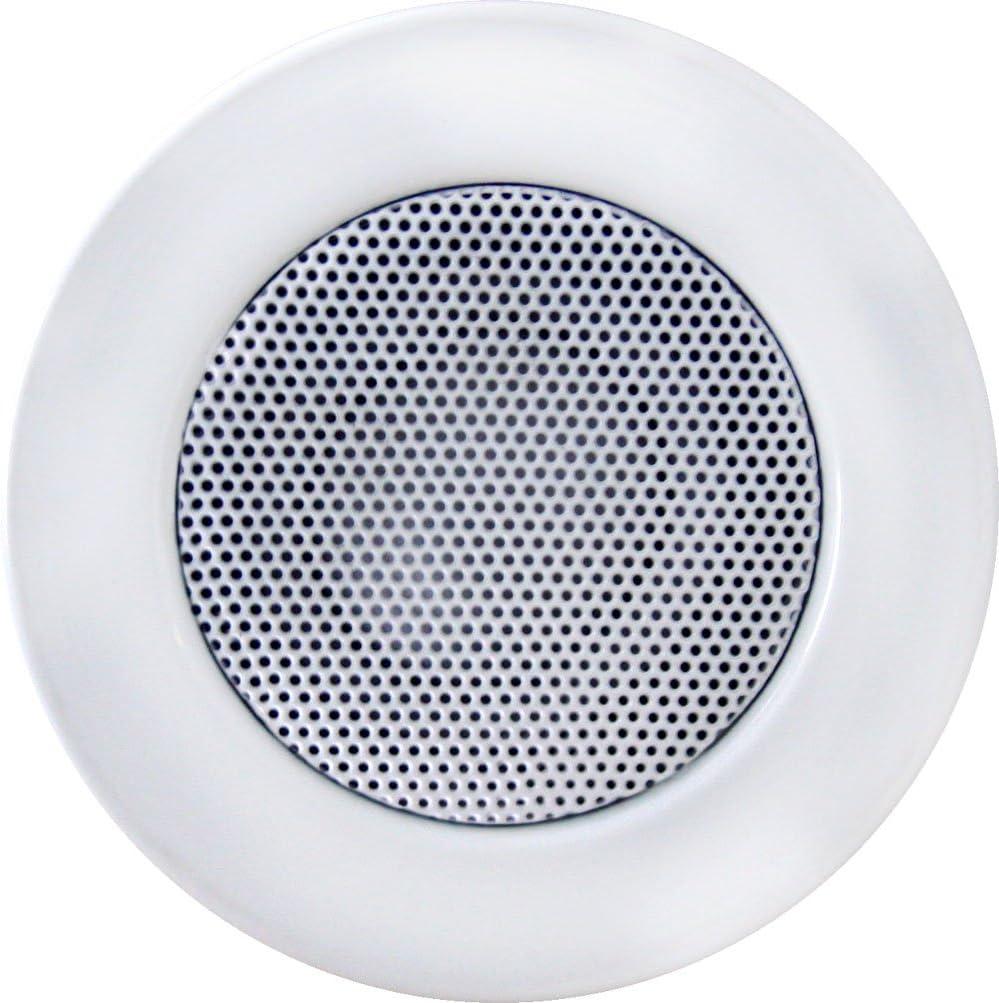 White, Single Earthquake Sound ACS 3.0 3-inch In-Ceiling Speaker