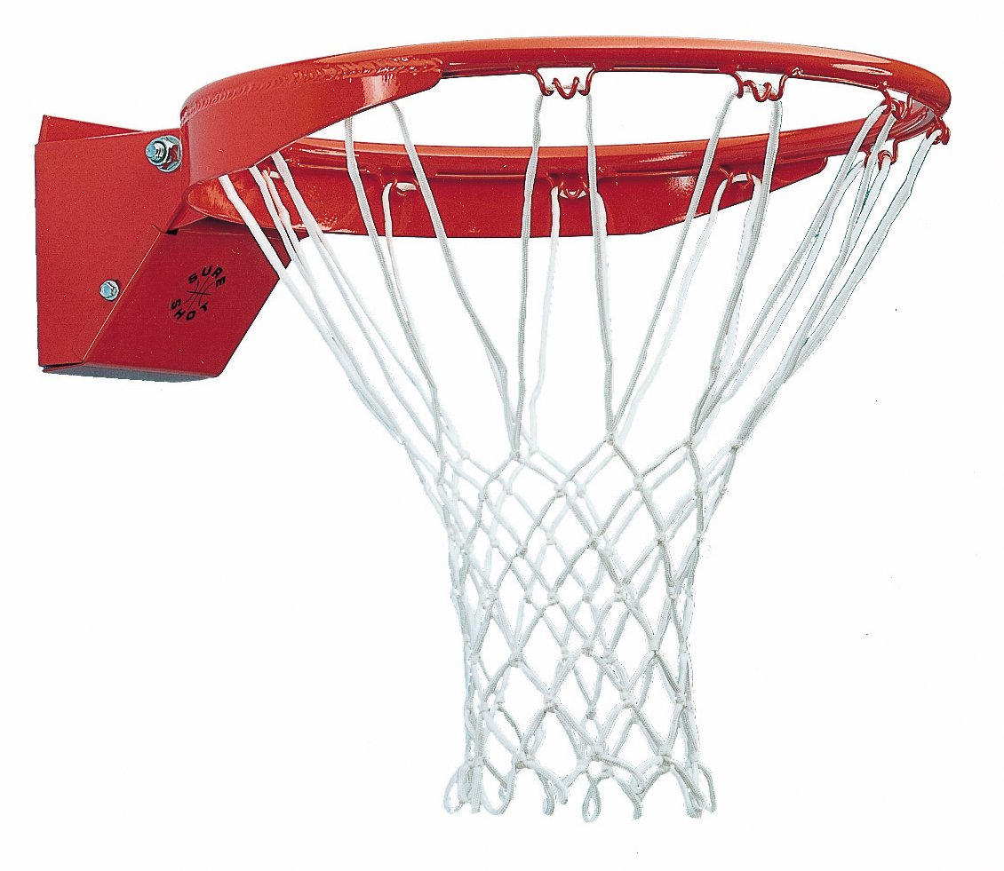 Sure Shot Basketball - Aro de baloncesto, color rojo/blanco 277 Basketball ring