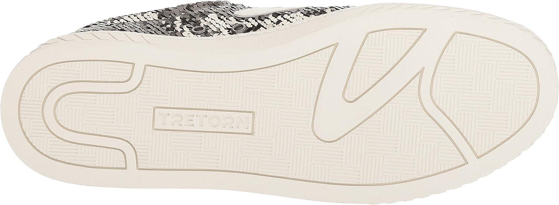Tretorn Women's Camden5 Sneaker B079ZBBJ17 4.5 B US|Grafite/Grafite/White