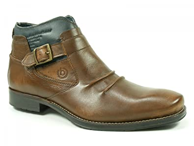 Bugatti Herren Schuhe Stiefeletten Chelsea Boots Salvatore T9737 4w