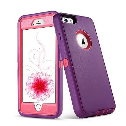 Amazon.com: VCOI - Carcasa para iPhone 6S Plus de 5,5 ...