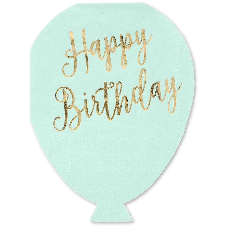 confezione da 50 Juvale 3 strati Tovaglioli di carta per festa di compleanno