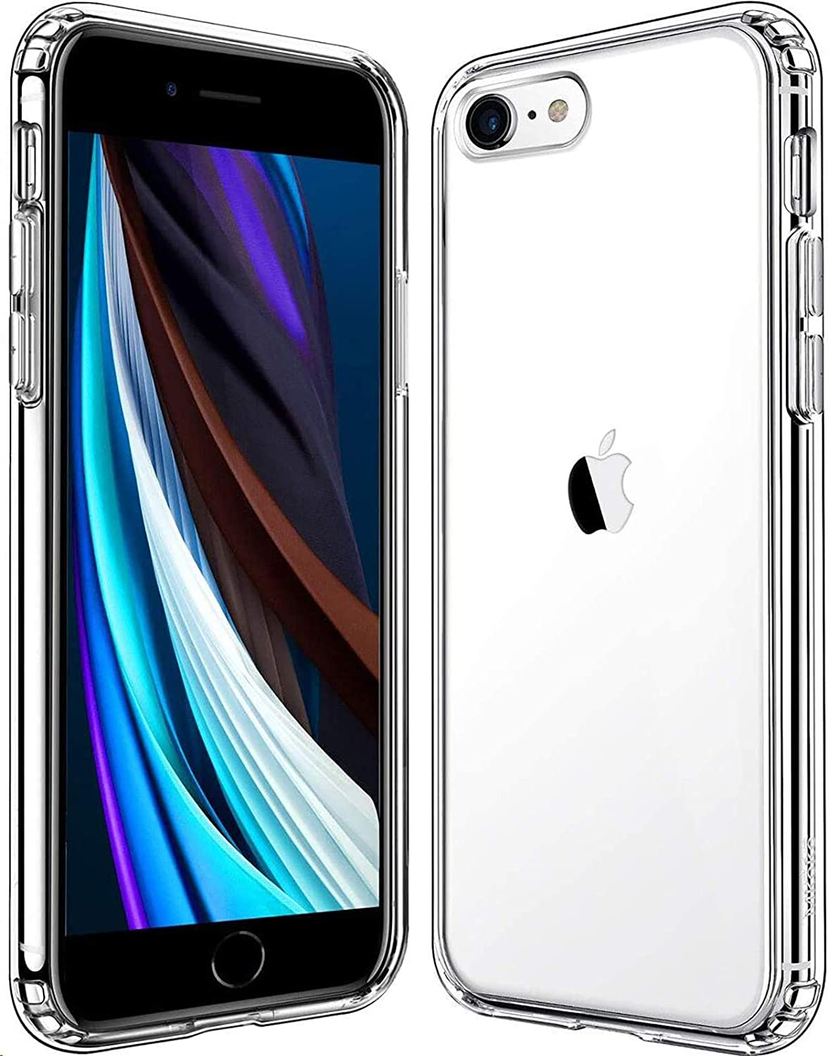 Amazon Com Mkeke Compatible With Iphone 8 Case Compatible With Iphone Se Case 2020 Compatible With Iphone 7 Case Clear