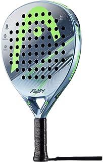 Head Flash Pro Pala de pádel de Tenis, Hombre, Azul grisáceo/Verde,