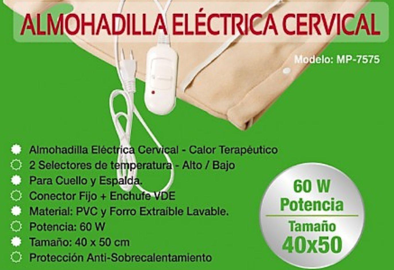 Almohadilla Electrica Cervical - Terapeutica tipo chaleco: Amazon.es: Hogar