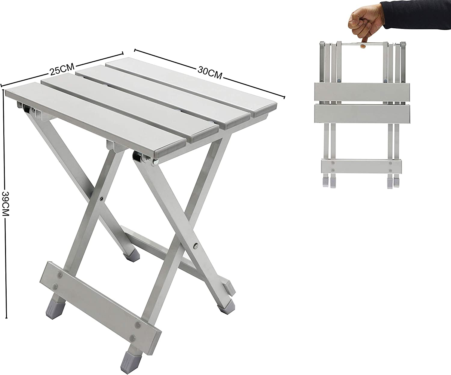 Homecall Alu Folding camping table outdoor with carrying bag