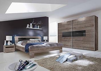 Merveilleux Schlafzimmer, Schlafzimmermöbel, Set Komplett, Komplettset,  Schlafzimmereinrichtung, Einrichtung, 3 Teilig