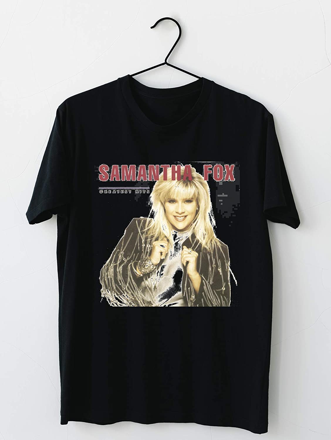 Samantha Fox - Greatest Hits - T-shirt For Gift Father Mother