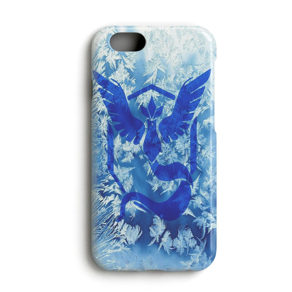 Gebleg Pokemon Go Team Mystic Wallpaper For Iphone 6 6s Case 3d