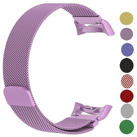 Ruentech - Correa de Repuesto para Samsung Gear Fit2 Gear Fit2 Pro ...